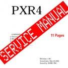 Korg PXR4 ** SERVICE MANUAL **