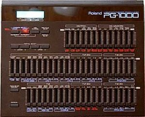 ROLAND PG-1000 PG1000 ** SERVICE MANUAL / NOTES **