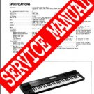 ROLAND W-30 W30 SERVICE MANUAL / NOTES