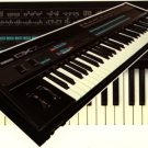 YAMAHA DX7 DX-7 SERVICE MANUAL * w/schematics