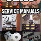 TEAC * SERVICE manual  x1000  a2300 a3300 X-7 X-7R MkII