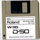 D-50 Sound set for ROLAND W-30 W30