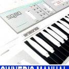ENSONIQ SQ80 (SQ-80) Synth ** Owner's Manual  Paper