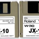JX-10 JX10 Sound set (2 disks) for ROLAND W-30 W30