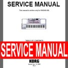 KORG RADIAS-KB   ** SERVICE MANUAL