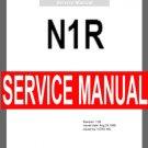 KORG N1R   N1/R   N-1r   ** SERVICE MANUAL