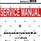 MARANTZ MODEL 2110 Tuner - SERVICE MANUAL -