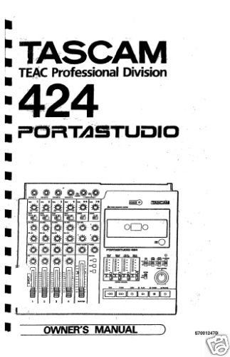 Tascam 424 mkiii manual easterntreton.