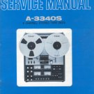 TEAC A-3340S a3340s OWNER'S Manual -Paper manual-
