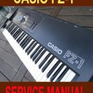 CASIO FZ1 FZ-1 ** SERVICE manual