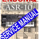 ENSONIQ ASR-10 ASR10 SYNTH SAMPLER  * SERVICE MANUAL *