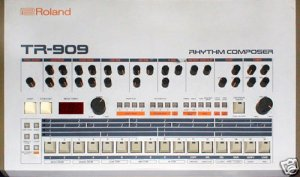 ROLAND TR-909 TR909 SERVICE MANUAL / NOTES *Paper