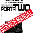 TASCAM Porta TWO - SERVICE MANUAL
