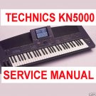 TECHNICS KN-5000 (KN5000) * COMPLETE SERVICE MANUAL *