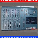 SERVICE MANUAL TASCAM MINISTUDIO 414 MKII * RARE Find !