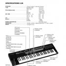 ROLAND D-20 D20 - Repair / Service Manual w/ Schematics