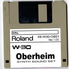 0BERHEIM Synth ~ Sound Set for ROLAND W-30 W30