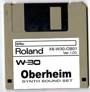 0BERHEIM Synth ~ Sound Set for ROLAND W-30 W30