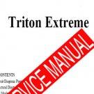 KORG TRITON EXTREME   SERVICE MANUAL