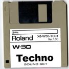 TECHNO Sound Set DISK for   ROLAND W-30 W30