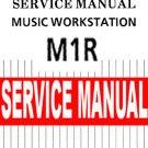 KORG M1R  M1-R  -= REPAIR / SERVICE MANUAL =-