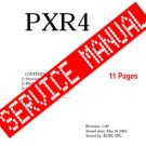 Korg PXR4 ~  SERVICE MANUAL  ~