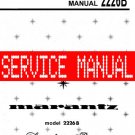 MARANTZ 2226B RECEIVER - SERVICE MANUAL -