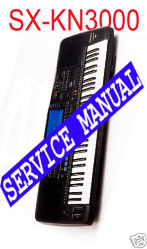 TECHNICS KN-3000 (KN3000) *  REPAIR / SERVICE MANUAL *