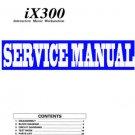KORG  iX-300 / iX300  KEYBOARD  REPAIR / SERVICE MANUAL