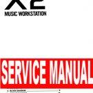 KORG X2  X-2 ~  SERVICE MANUAL