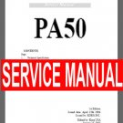 KORG Pa-50  pa50   ~  SERVICE MANUAL