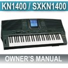 TECHNICS KN-1400 (KN1400) Instruction OWNERS  MANUAL *