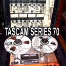 TASCAM SERIES 70 REEL  REPAIR / SERVICE MANUAL
