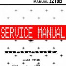 MARANTZ 2216B RECEIVER - SERVICE MANUAL -
