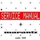 MARANTZ 2245 RECEIVER - SERVICE MANUAL - ALL PAGES!