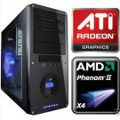 AMD Phenom II 965 3.4Ghz Quad Core Gaming Computer ATI