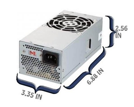 HP Pavilion Slimline s5623w Power Supply Upgrade 400 Watt