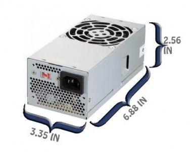 400W TFX Replacement Dell Power Supply for Model: XW605 (0XW605), YX300 (0YX300)