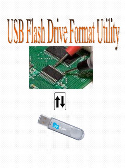 USB Flash Drive Format Utility