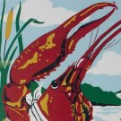 1984 Breaux Bridge Louisiana Crawfish Festival Poster
