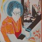 1981 Delcambre Louisiana Shrimp Festival Poster