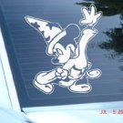 "Mickey Mouse Wizard Magician Sorcerer Decal Sticker 8""L x 7.2""W"