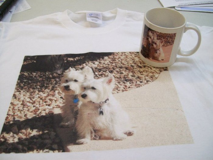 Photo coffee mug and mousepad