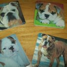 Ceramic sandstone coaster set, personalized, photo