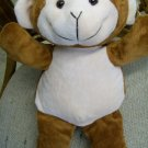 Monkey Plush with free personalization