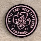 1965 Crystal Lake-Deer Flats Area CAMPOREE Patch New Condition