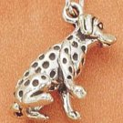 STERLING SILVER 3D DALMATIAN CHARM