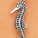 "STERLING SILVER SEA HORSE CHARM (1.25"")"