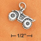 STERLING SILVER 3D ANTIQUED 4 WHEELER CHARM