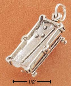 STERLING SILVER POOL TABLE CHARM